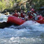 4 people rafting
